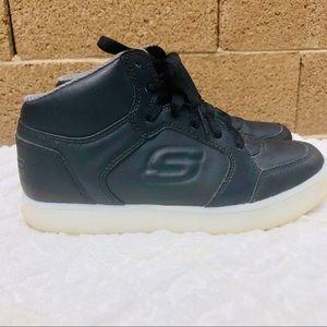 Youth Boy's Skechers Size 3 Energy Lights Sneakers